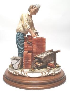Metser 30 cm Capodimonte Bisquit
