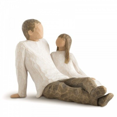 Father and Daughter 11.5 cm
