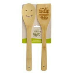 Keuken - Vrolijke Bamboe Keukenset