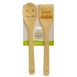 Love - Vrolijke Bamboe Keukenset