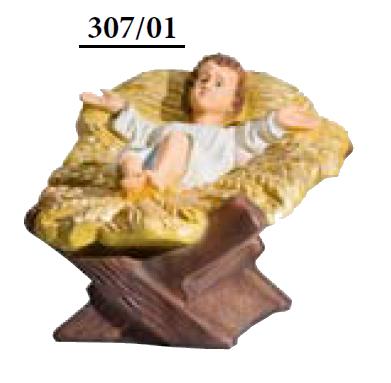 Jezus met Kribbe KER-ELM307-55-1