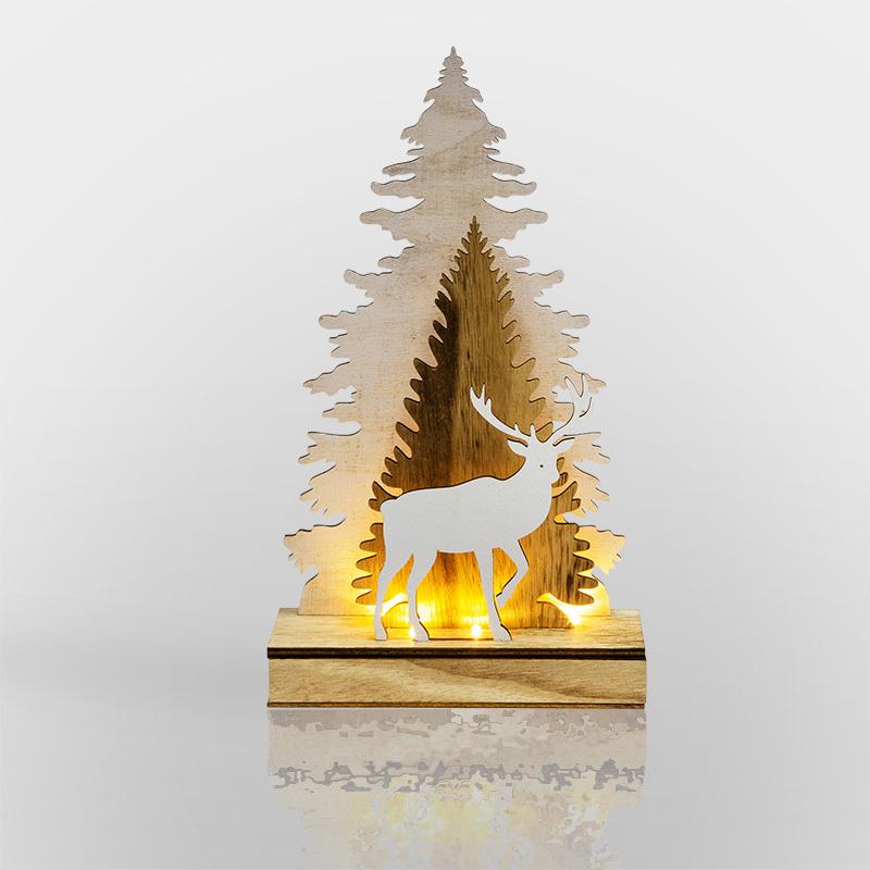 Фигура дерев. с подсветкой 504-001 Neon Night