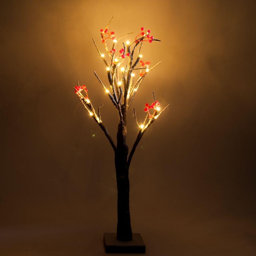Дерево светодиодное с ягодами