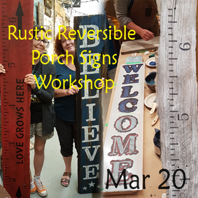 Reversible Porch Sign Mar 20