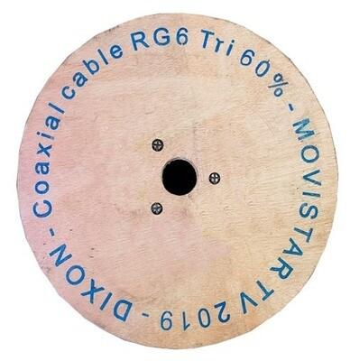 CABLE COAXIAL RG 6 BLANCO DIXON