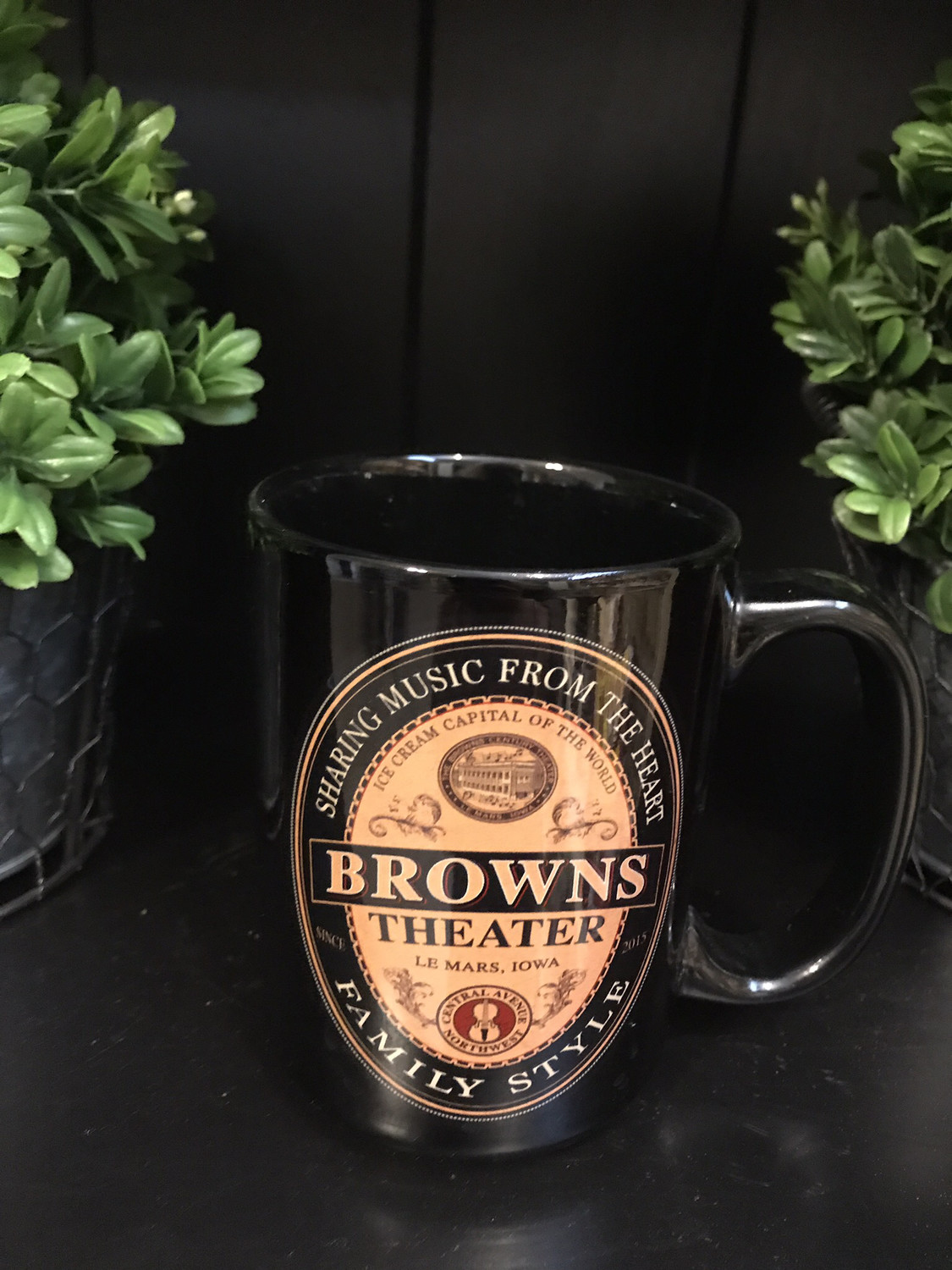 Browns Theater Mug - 12oz