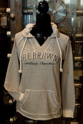 Browns Century Theater - Stripped Sweatshirt
