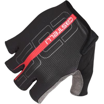 Castelli Tempo Glove Black/Red