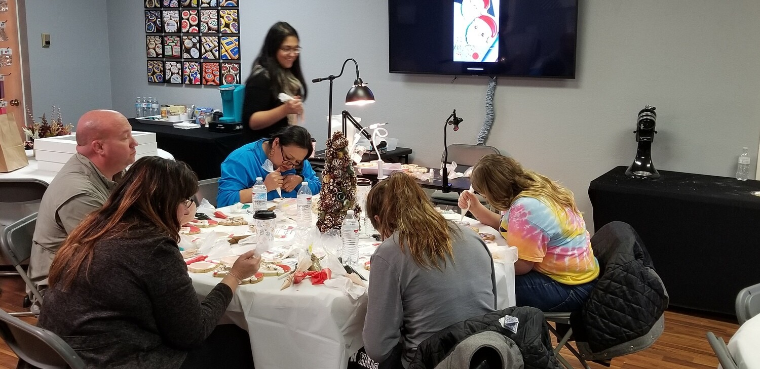 'East Texas Cookie Jam' - SUNDAY, JANUARY 19th at 3:00 p.m. to 8:00 pm (THE COOKIE DECORATING STUDIO)