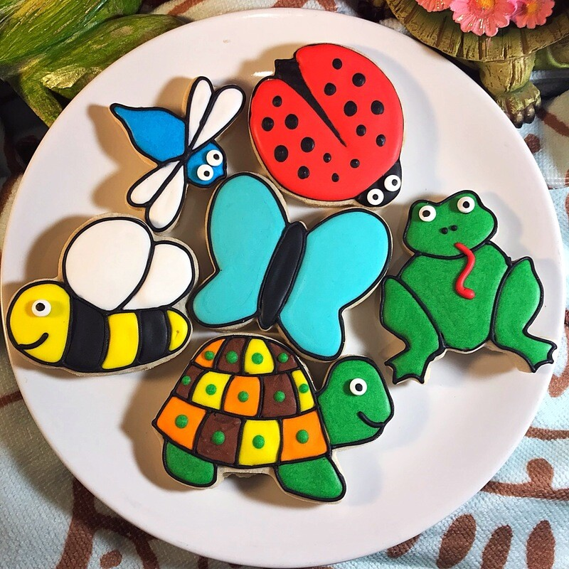 'Critters Decorating Workshop - THURSDAY, JUNE 11th at 6:30 p.m. (THE COOKIE DECORATING STUDIO)