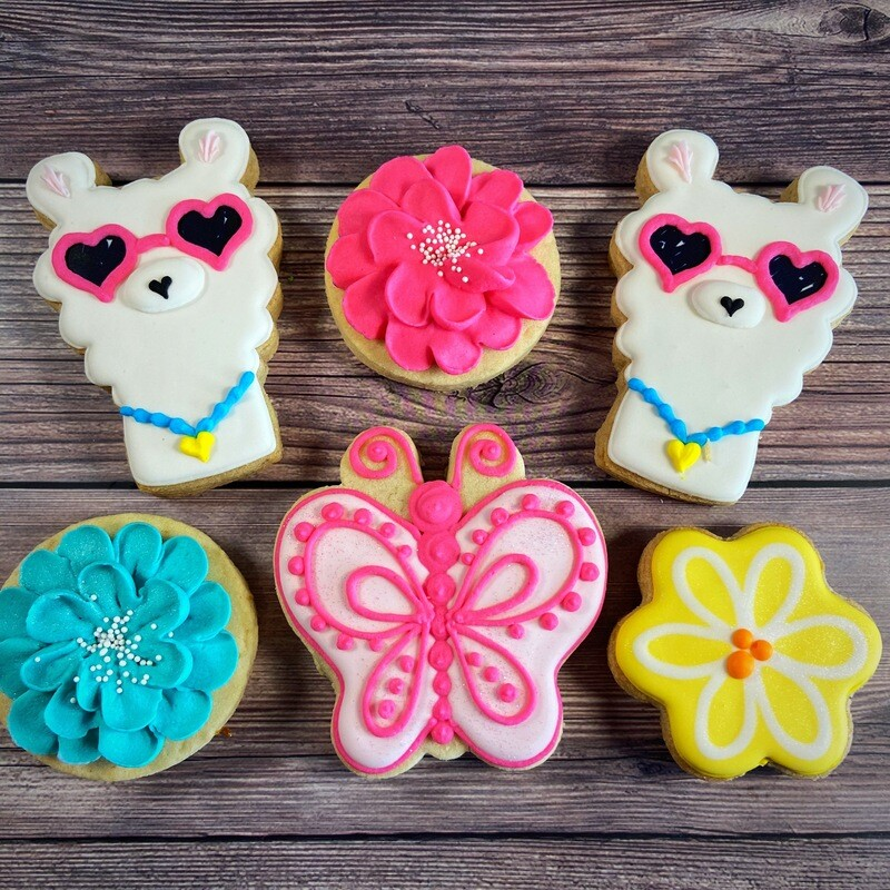 'Butterfly Llamas' Decorating Workshop - SUNDAY, JULY 12, 2020 at 3:30 p.m. (THE POTPOURRI HOUSE)