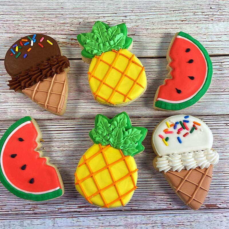 'Sweet Treats Decorating Workshop - TUESDAY, JULY 7th at 2 p.m. (THE COOKIE DECORATING STUDIO)