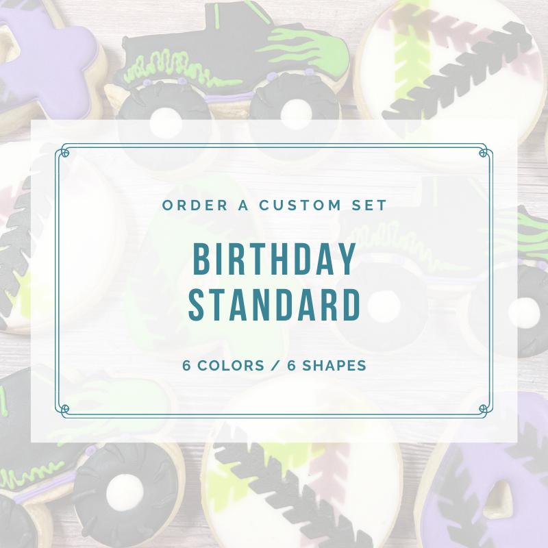 BIRTHDAY STANDARD CUSTOM (2 DOZEN)