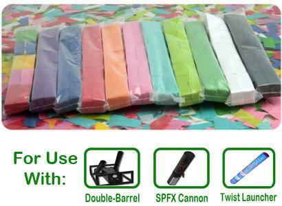 """Tissue Confetti for 2"""" Barrels 000011"""