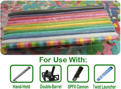 "Tissue Streamers 1"" Barrels 00010"