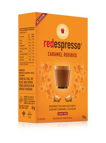 Red Espresso Caramel Capsules - 10s
