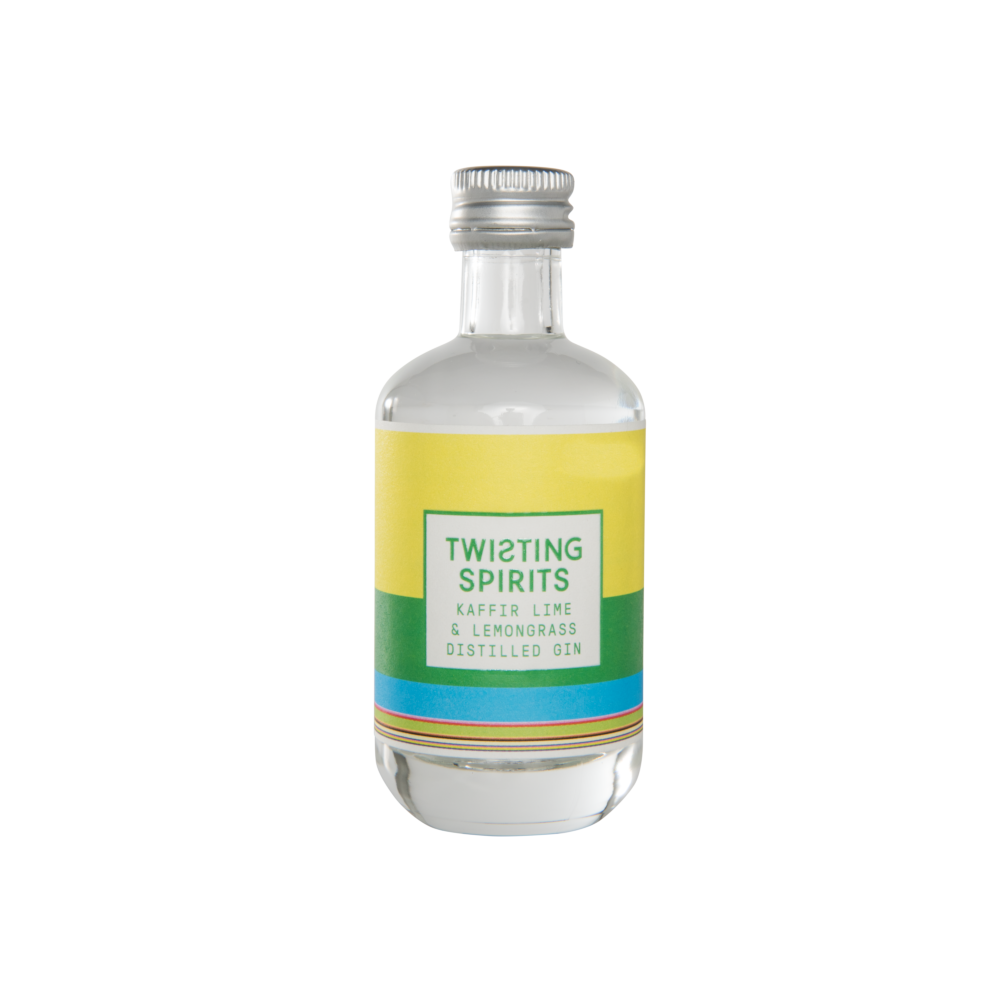 Kaffir Lime & Lemongrass Distilled Gin 41.5% ABV 5cl