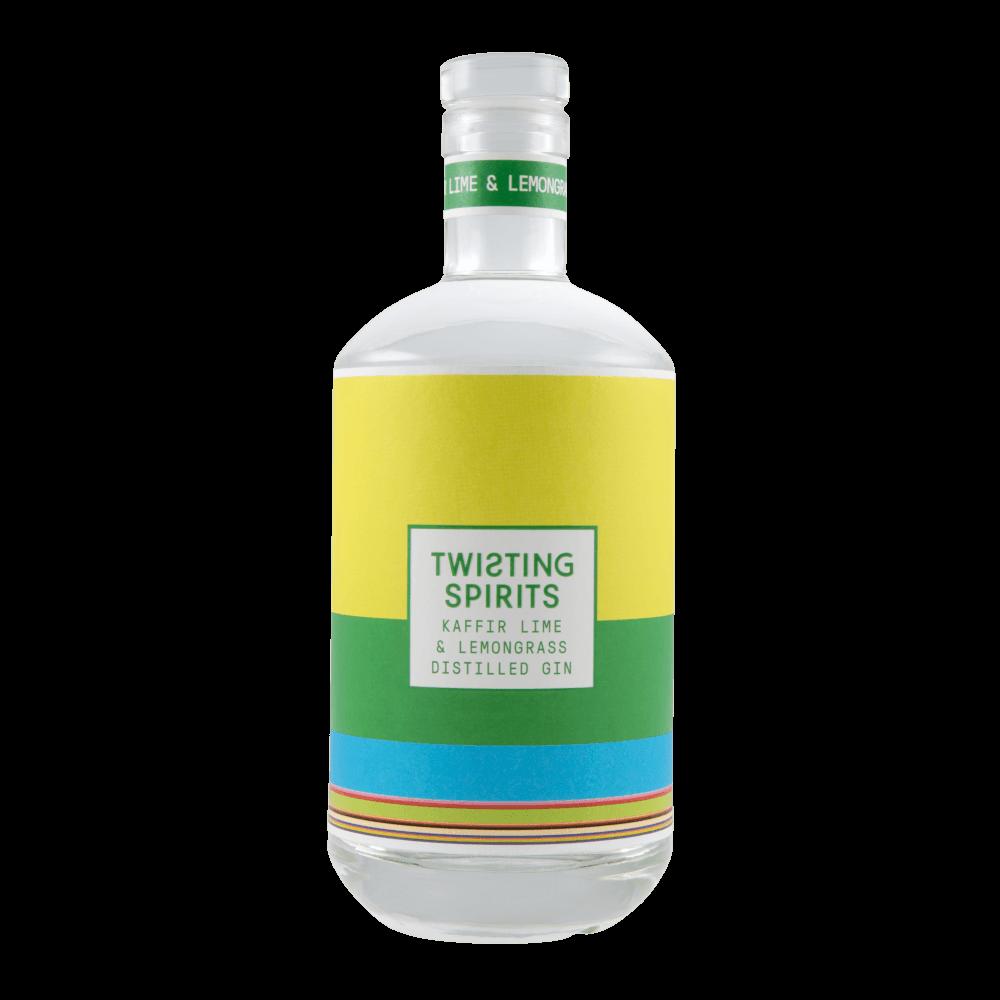 Kaffir Lime & Lemongrass Distilled Gin 41.5% ABV 70cl