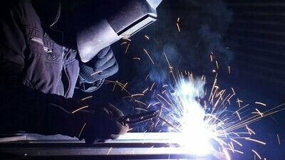WELDING FOR THE HOBBYIST/ARTIST meets Saturdays from 8 - 11 AM October 31 - November 21, 2020 Instructor: Luke Lang