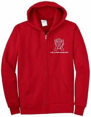Essential Full-Zip Hooded Sweatshirt