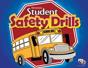 Student Safety Drill Flip Chart for ELEMENTARY STUDENTS