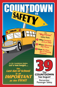 Countdown to Safety Calendar