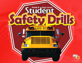 ENGLISH VERSION Student Safety Drill Flip Chart for MIDDLE & HIGH SCHOOL STUDENTS