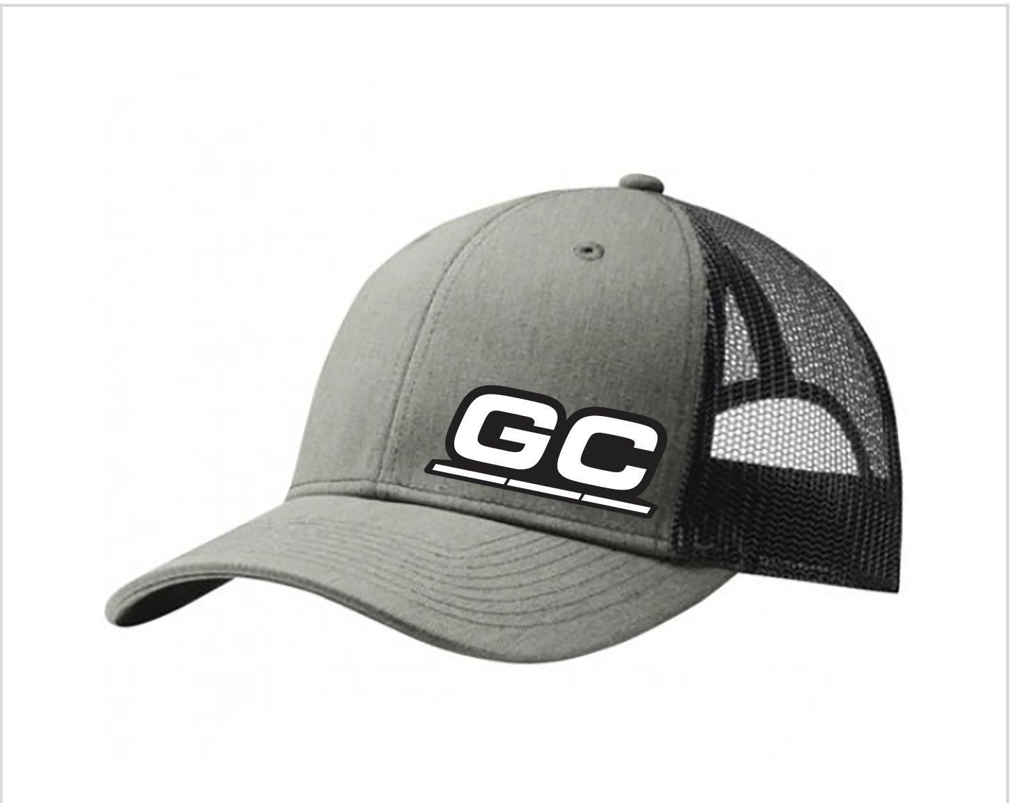 Heather Gray/Black GC Cooling Embroidered Hat