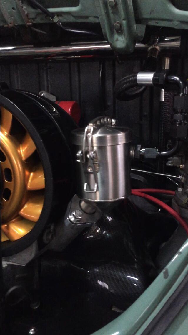 Oil Filler Porsche Cooling Fan Type 1 Engine