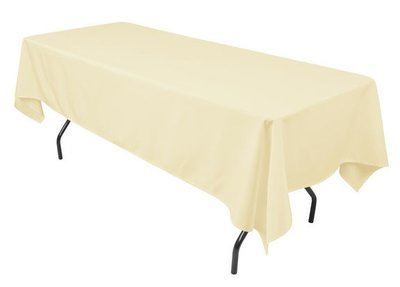 Banquet Table Ivory 52