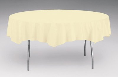 Round Banquet Table White 85