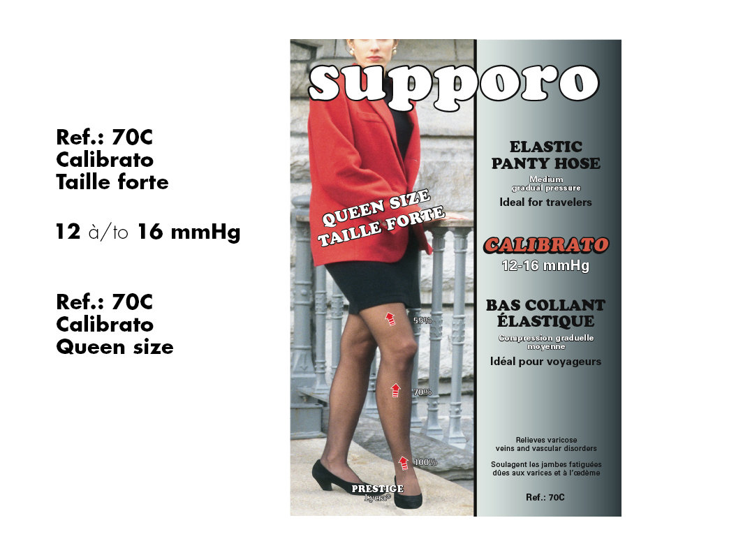 Queen Size  Support Panty Hose (12-16 mmHg)