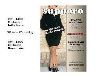 Supporo Elastic Panty Hose Queen Size.