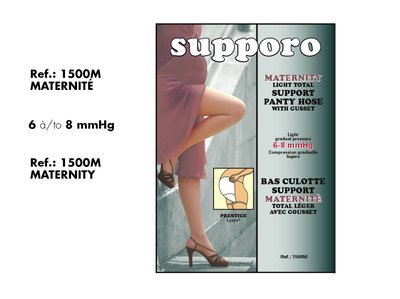 Supporo Maternity Elastic support  Panty Hose. (Support 20-25mmHg)