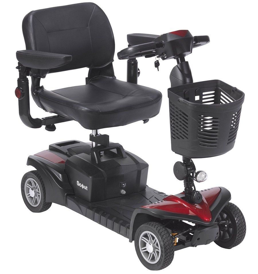 Drive Electric Scooters Spitfire Scout DST 4 Wheels 2 Batteries 20 AH No Taxes & Free Shipping in Canada