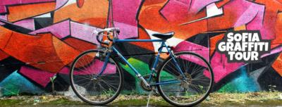 Sofia Graffiti Tour by bike