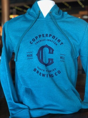 Copperpoint Unisex Pullover Hoodie (Teal)