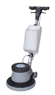 Industrial Floor Polisher Machine with (1 Tank + 2 Brushes + 1 Pad Holder ) ,1.5 HP