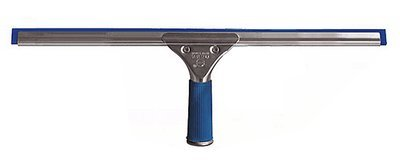 Professional Steel Window Squeegee with Natural Rubber, 14