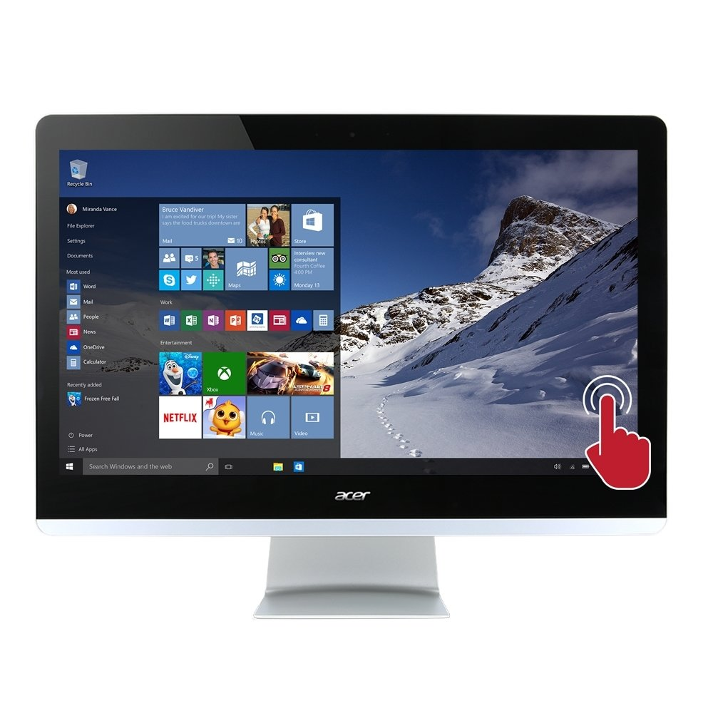 Acer Aspire AZ3 Intel i5-7400T 8GB DDR4 1TB HDD Touchscreen Desktop