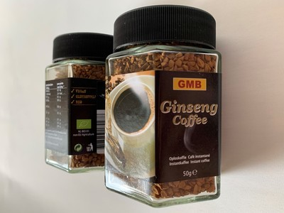 BIO Ginseng Coffee, Black, Vegan en Glutenvrij