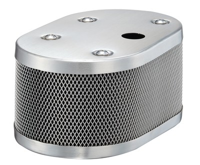 CLASSIC STYLE OVAL MESH AIR CLEANER FOR IDF AND DELLORTO WITH 20MM HOLE