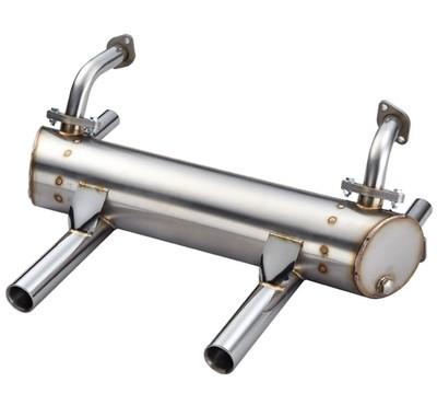 TYPE 1 ENGINE HIGH PERFORMANCE SPORT MUFFLER FOR 25HP, 36HP 50/35 (No Apron Cut-Outs)