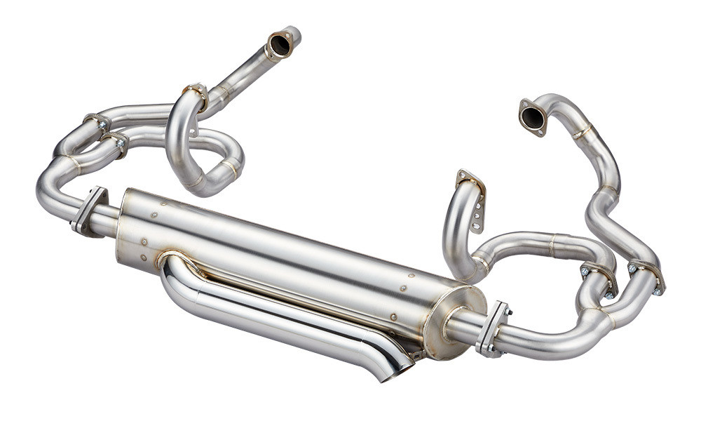43MM HEADER SPLIT BUS, MERGE COMP 740 EXHAUST SYSTEM