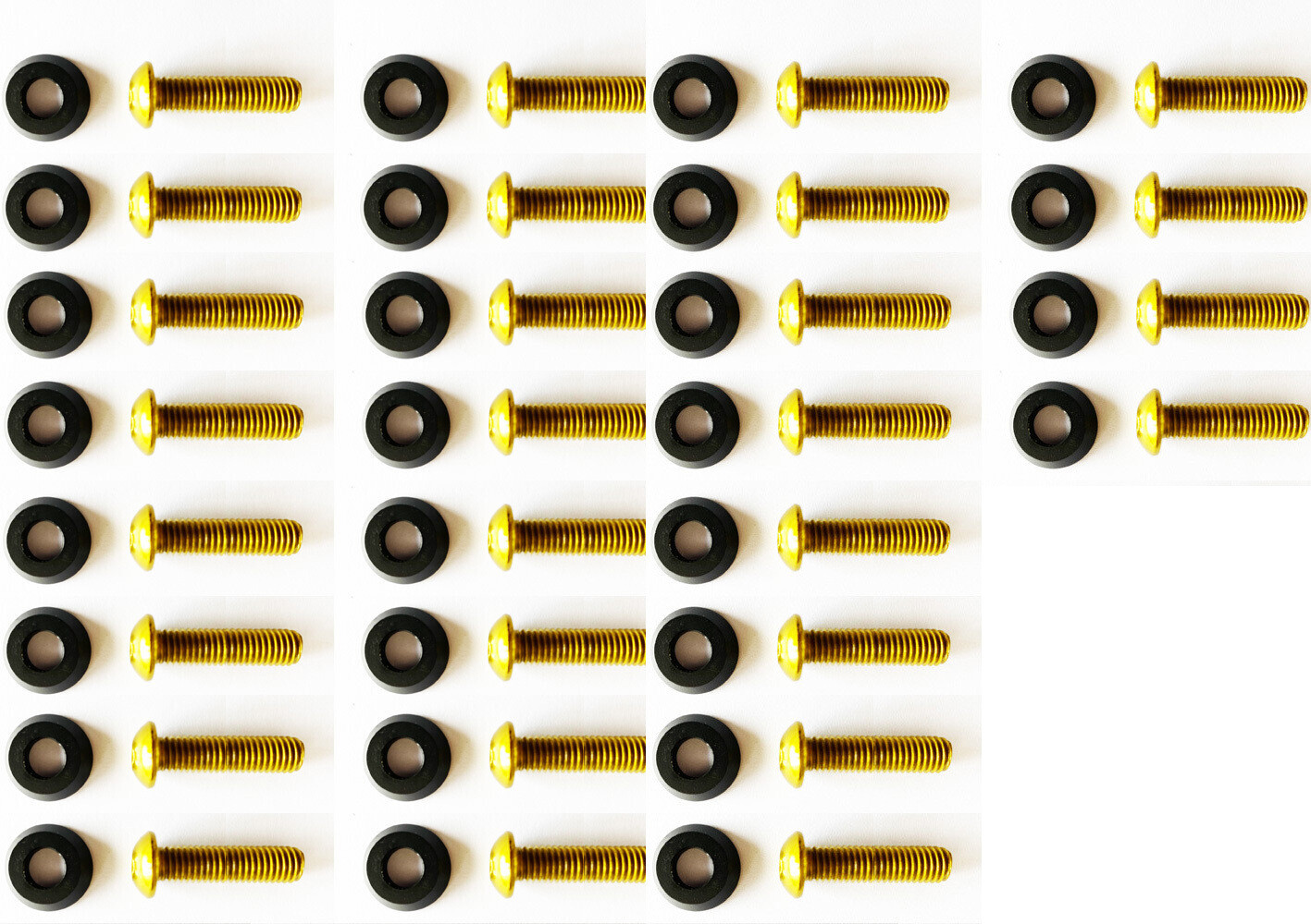 Black washers with 35mm M8 Screws //36PC