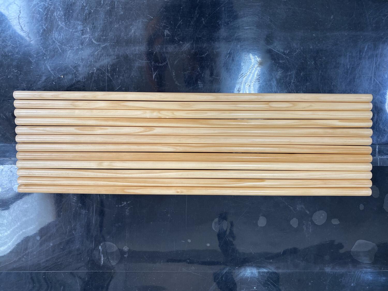 12PCS Pine Rods Kit for Vintage Speed Karmann Ghia Roof Rack