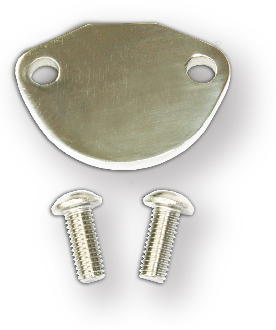 FUEL PUMP BLOCK OFF PLATE FOR TYPE 1 ENGINE