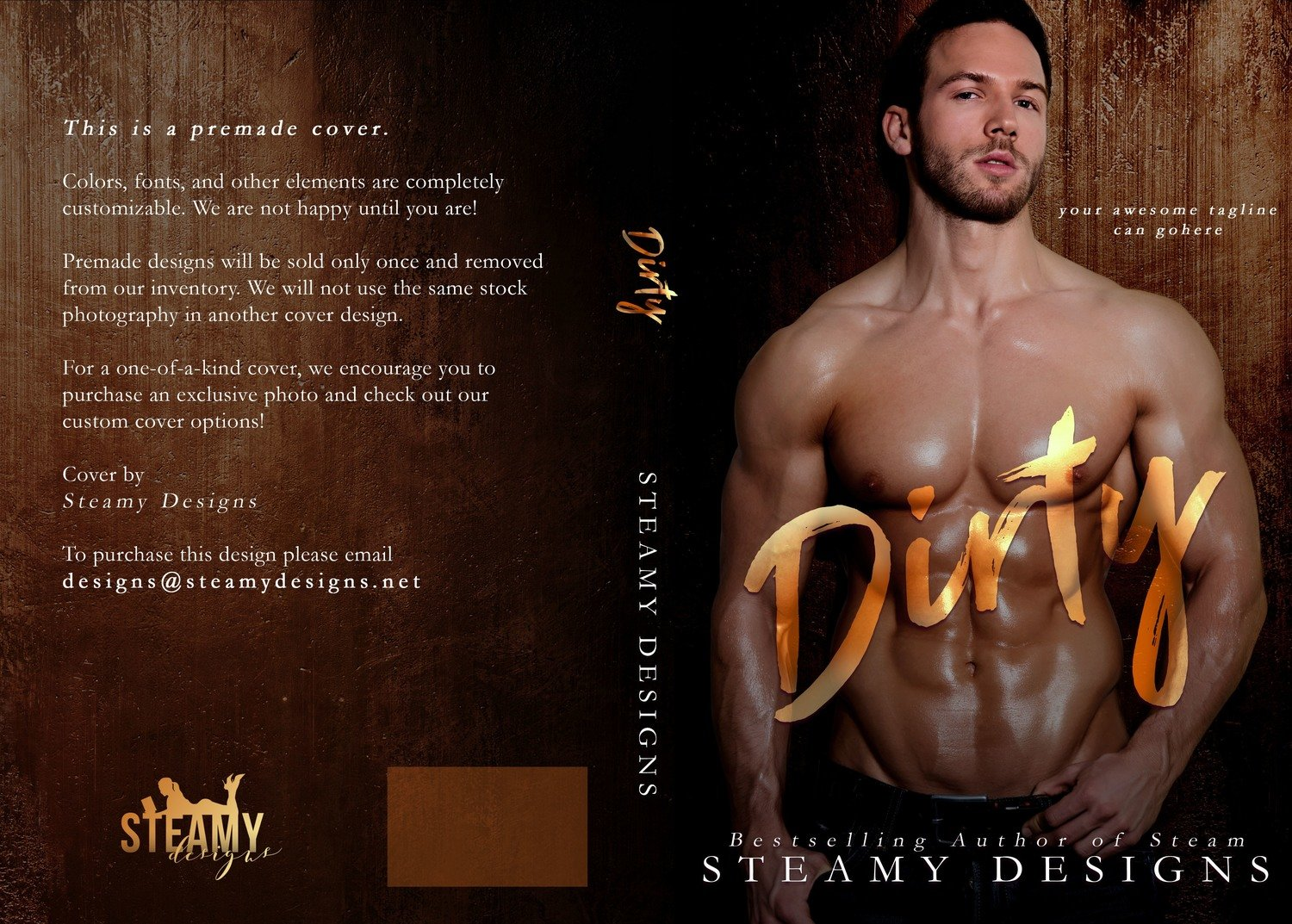 Dirty - Premade Cover