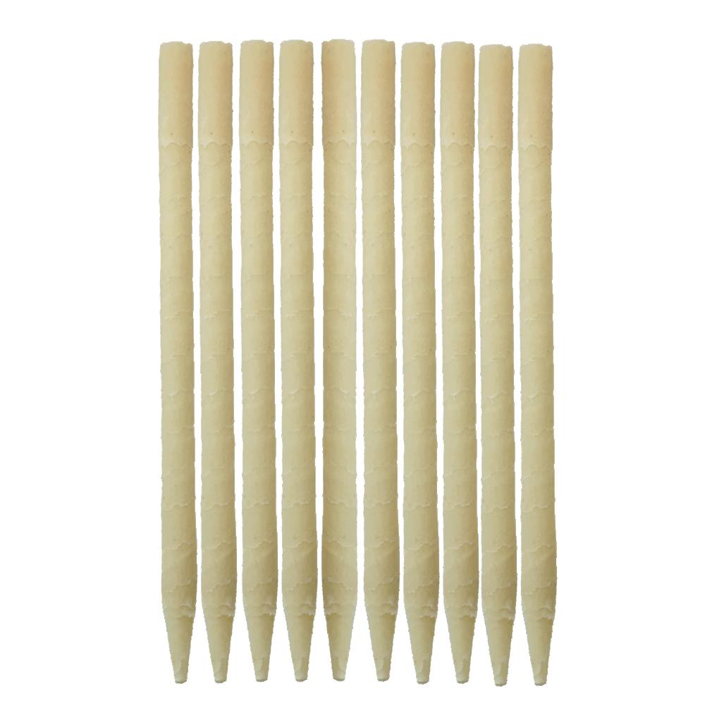 10pk 100% Paraffin Ear Candles