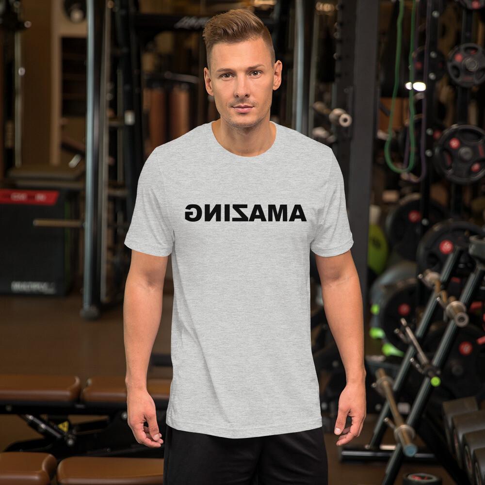 Short-Sleeve Unisex T-Shirt (AMAZING Black)